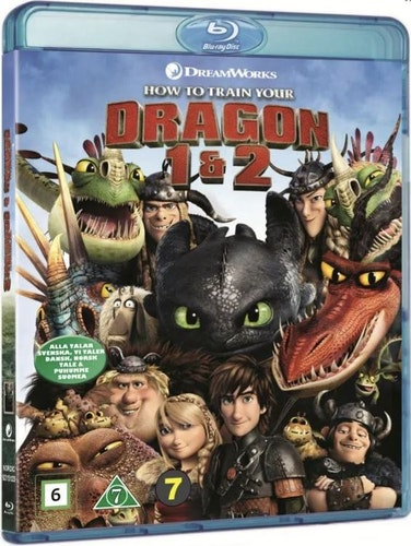Draktränaren 1-2 (Blu-ray) (2 disc) (beg)