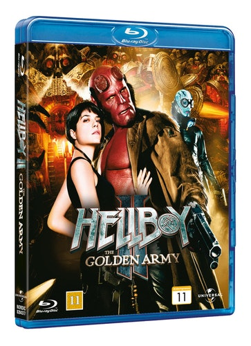 Hellboy 2: The Golden Army bluray