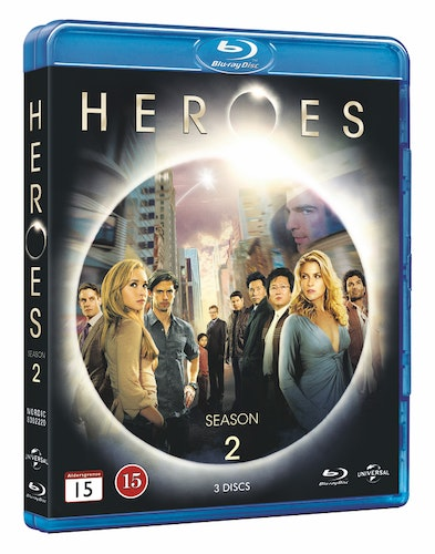 Heroes - Season 2 bluray UTGÅENDE