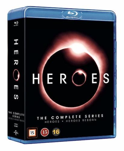 HEROES COMPLETE + REBORN bluray