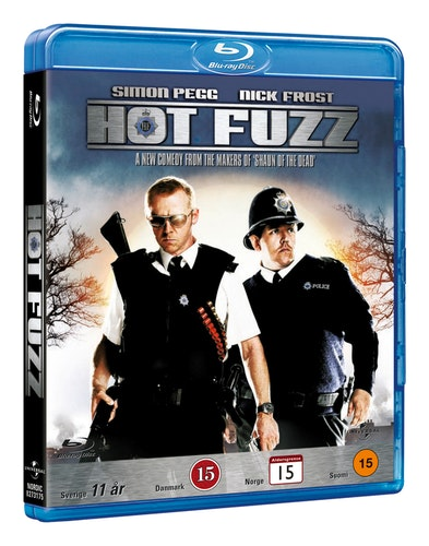 Hot Fuzz bluray