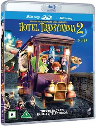 Hotell Transylvanien 2 3D bluray