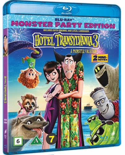 Hotell Transylvanien 3: En Monstersemester bluray