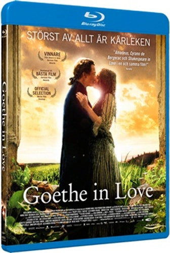 Goethe in Love bluray (ny men ej inplastad)