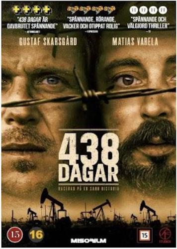 438 Dagar DVD (nordiskt omslag)