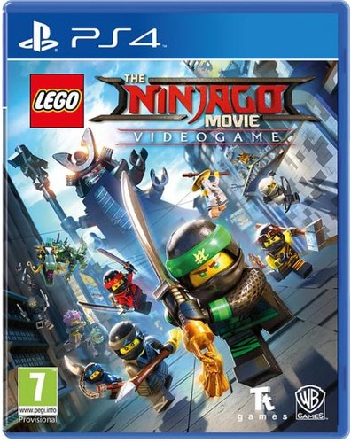 LEGO Ninjago Movie Video Game (PS4)