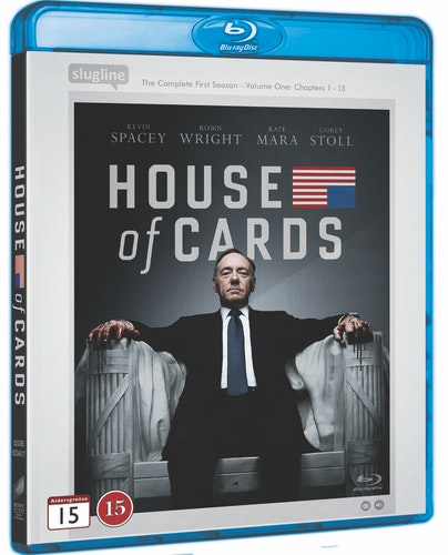 House of Cards - Säsong 1 bluray