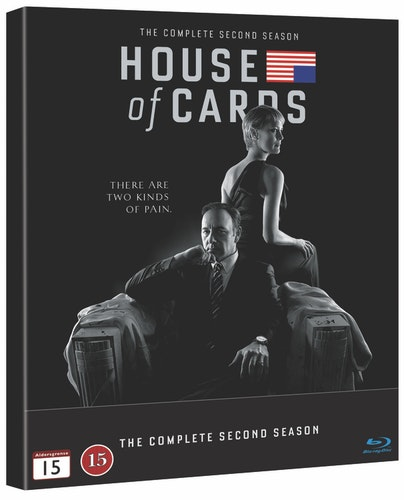 House of Cards - Säsong 2 bluray UTGÅENDE