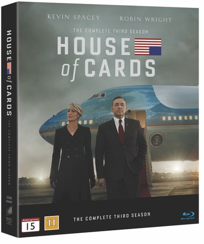 House of Cards - Säsong 3 bluray UTGÅENDE