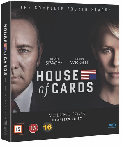 House of Cards - Säsong 4 bluray