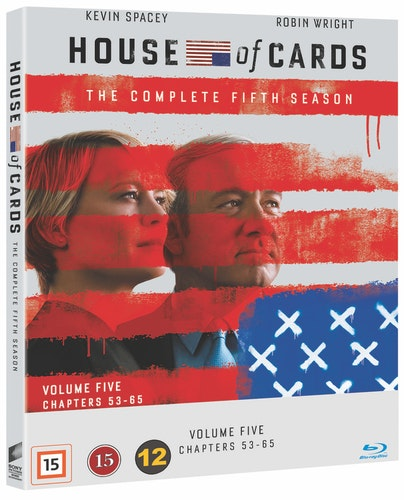 House of Cards - Säsong 5 bluray UTGÅENDE