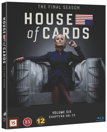 House of Cards - Säsong 6 bluray
