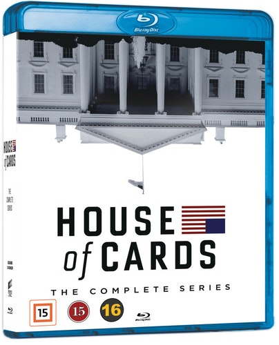 House of Cards - The Complete Series bluray