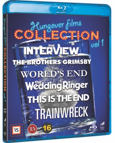 Hungover Films Collection - Vol. 1 bluray