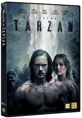 The Legend of Tarzan DVD (beg)