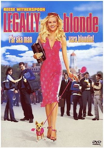 Legally Blonde DVD (beg)