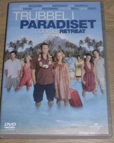 Trubbel I Paradiset DVD (beg f.d hyrfilm)