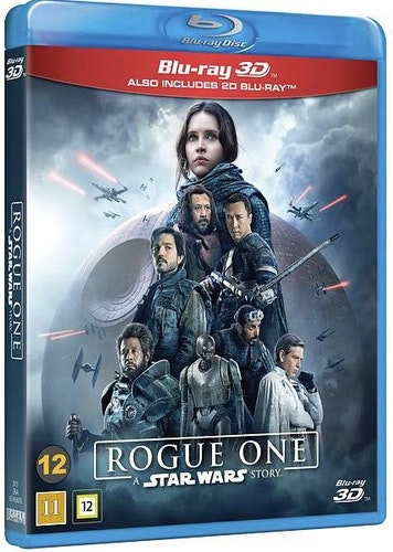 Star Wars - Rogue One A Star Wars Story 3D+2D bluray