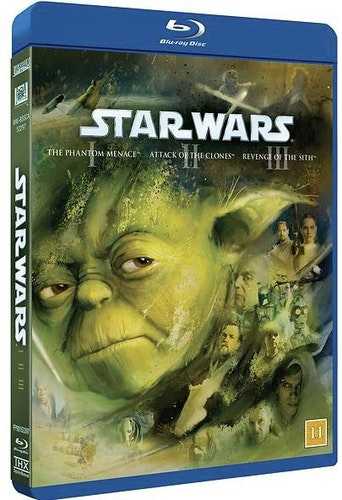 Star Wars - Prequel Trilogy bluray