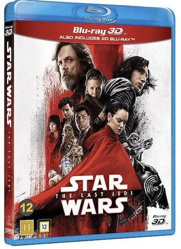 Star Wars - Episode VIII: The Last Jedi (3D) bluray
