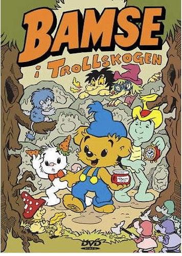 Bamse I Trollskogen DVD