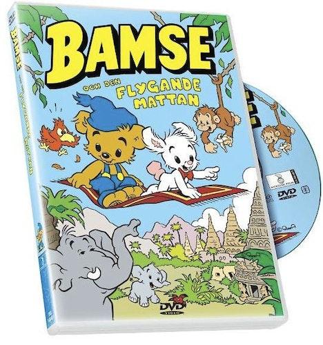 Bamse Och den Flygande Mattan DVD
