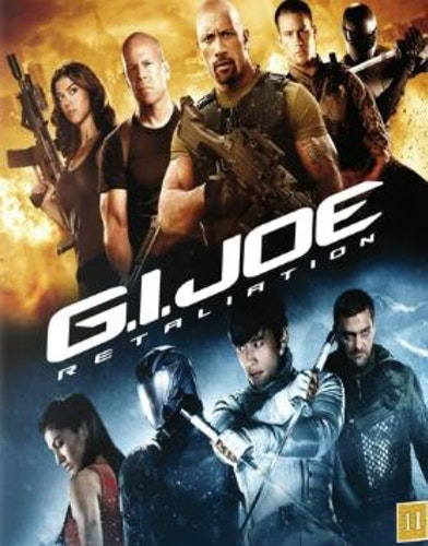 G.I. Joe: Retaliation DVD (beg med danskt omslag och svensk text)