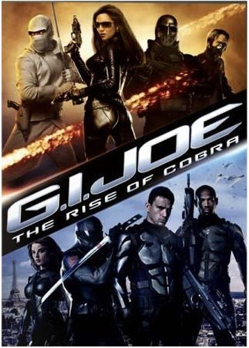 G.I. Joe: The Rise of Cobra DVD (beg)