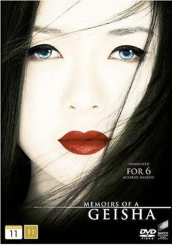En Geishas Memoarer DVD (f.d. hyrfilm)