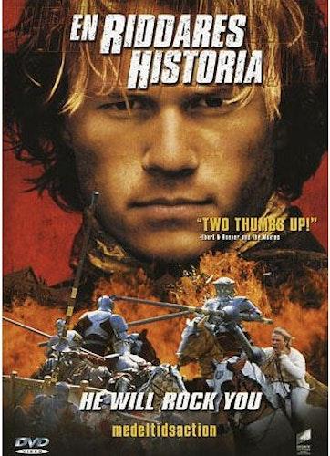 En Riddares Historia DVD (beg)