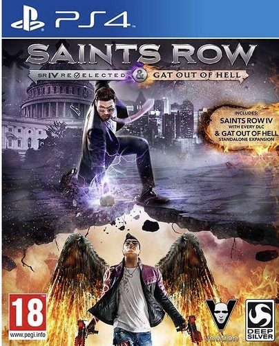 Saints Row IV: Re-Elected & Gat Out of Hell (PS4)