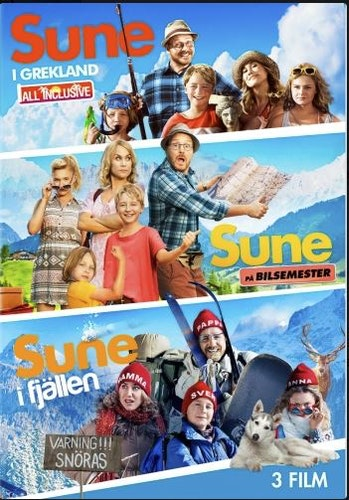 Sune - 3-Filmer Box (3-disc) DVD