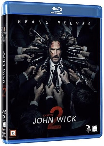 John Wick chapter 2 bluray