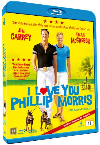 I Love You Phillip Morris bluray