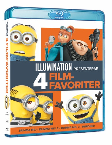 Illumination - 4 Movie Collection bluray