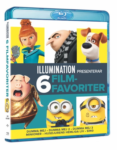 Illumination - 6 Movie Collection bluray UTGÅENDE