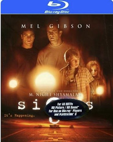 Signs Blu-Ray  (import med sv. text)