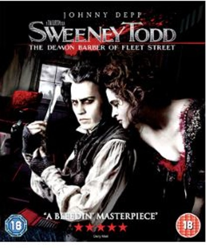 Sweeney Todd Blu-Ray (import med sv. text)