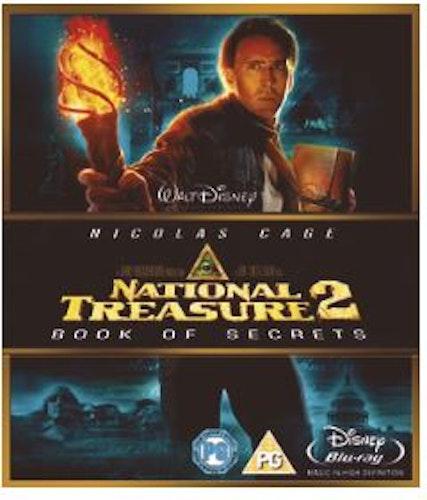 National Treasure 2 - hemligheternas bok Blu-Ray (import)
