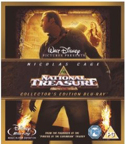 National Treasure Blu-Ray (import med sv. text)