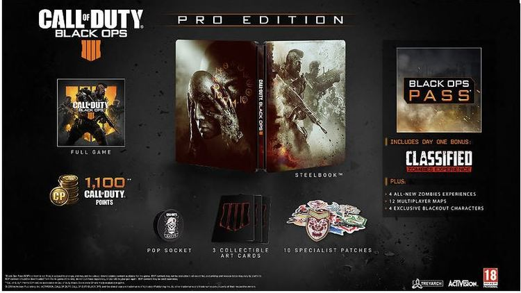 Call of Duty: Black Ops 4 - Pro Edition (PS4) beg