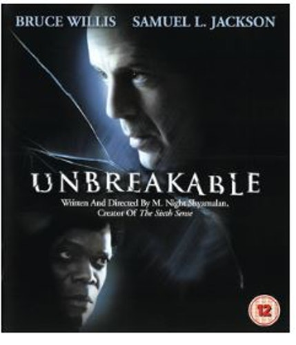 Unbreakable Blu-Ray (import med sv. text)