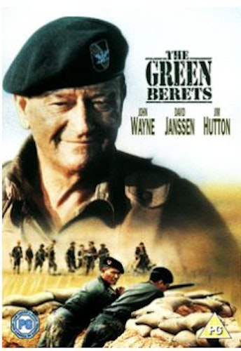 The Green Berets DVD (import)