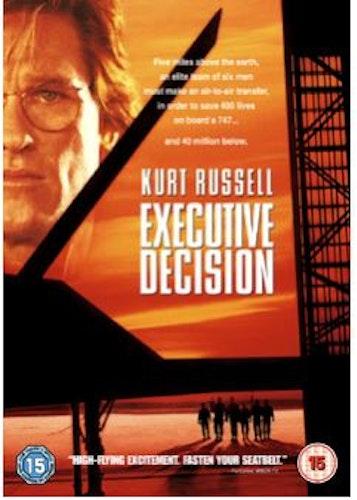 Beslut utan återvändo (Executive Decision) DVD (import)