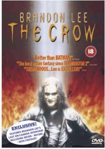The Crow DVD (import)