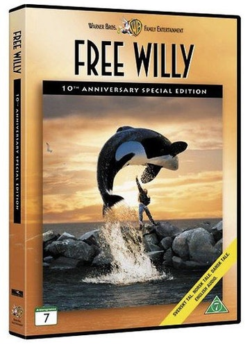 Rädda Willy DVD