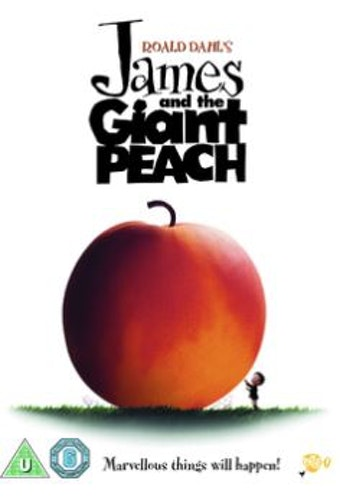 James and the Giant Peach DVD (Import)