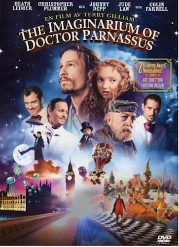 The Imaginarium of Doctor Parnassus DVD (beg)
