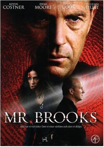 Mr. Brooks DVD (beg)