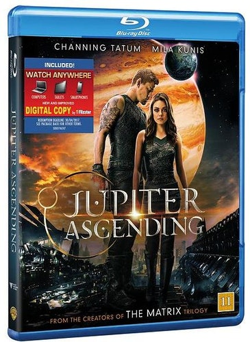 Jupiter Ascending bluray (beg)